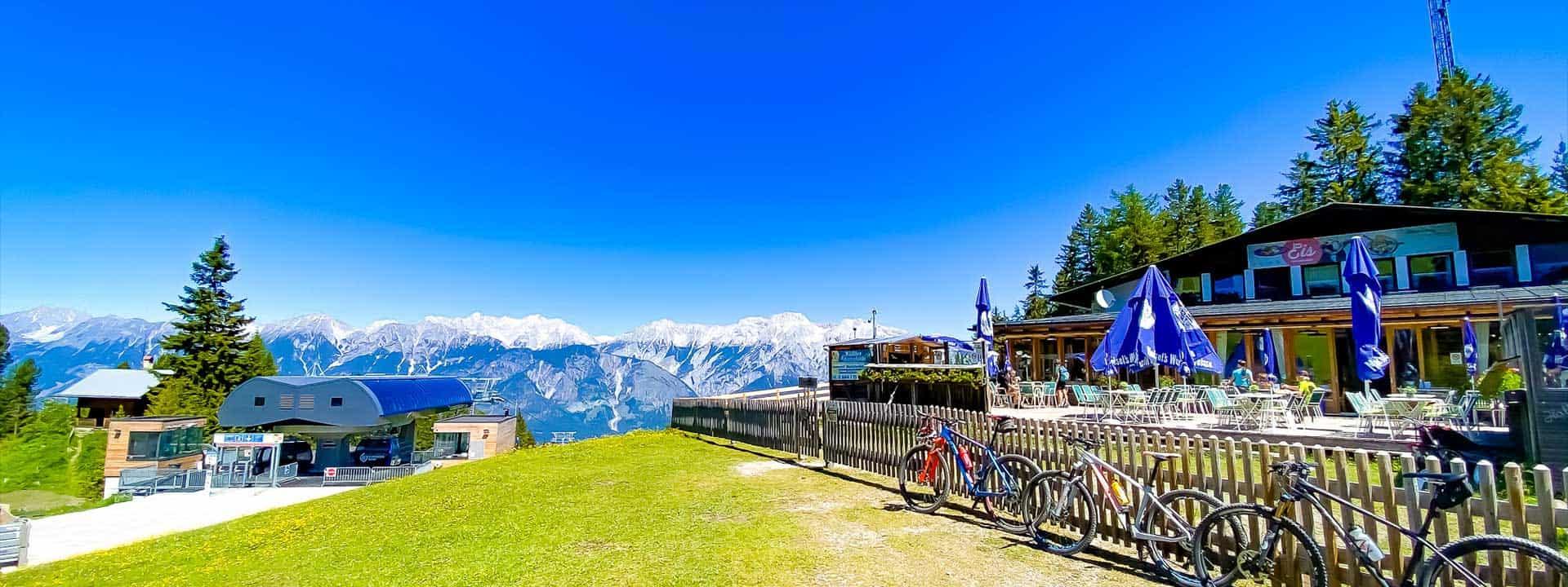 Alpengasthof Halsmarter in Tulfes am Glungezer in Tirol
